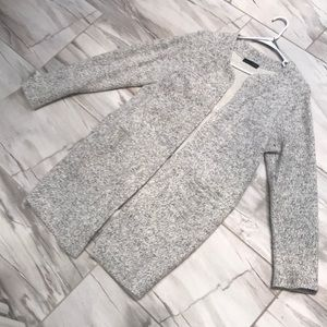 Gray wool Zara sweater / coat